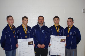 CHS -Wrestling 2013 State placers