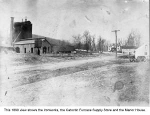 Catoctin Furnace Ironworks -Looking Back COLUMN