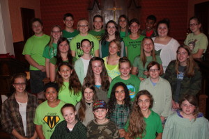 Thurmont Thespians Anne of Green Gables Cast Photo