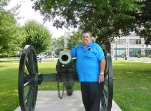 Me and the cannon