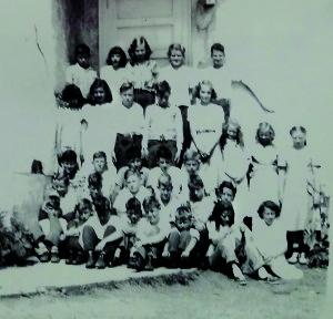 Foxville School Reunion - 1948 or 1949