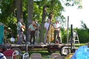 Band at Sabillasville picnic