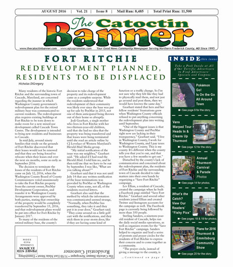 Read the Current Issue of Catoctin Banner
