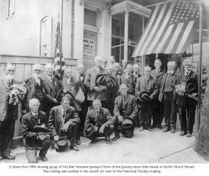 Veterans Gathering 1916