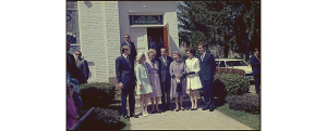 nixons at easter service 1971