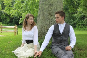 Brent Comer as Melchior and Molly Cohen as Wendla-1