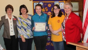 Leo of the Year - Thurmont Lions Club