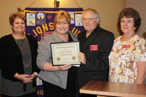 Thurmont Lions Club Teacher of the Year