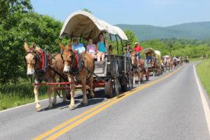 wagon-train